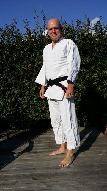 Claus A. Jørgensen gradueret til Shodan (1. Dan) på sommerlejren i Herzogenhorn, Tyskland