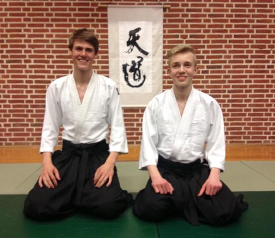 3. Kyu til Jakob og Christian Varde Aikido Tendoryu Danmark